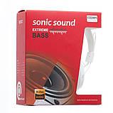 Наушники кожаные Sonic Sound E322B/MP3, Цвет Чёрный, фото 7