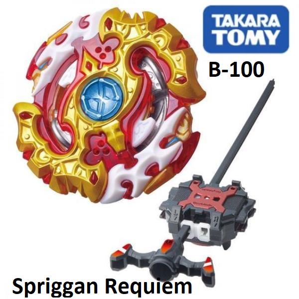 Волчок Спрайзен реквием с4 бейблейд Такара Томи Takara Tomy Beyblade B-100 Spriggan Requiem S4 оригинал