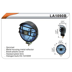 Фары дополнительные DLAA 1090 B-Y/H3-12V-55W/D=128mm