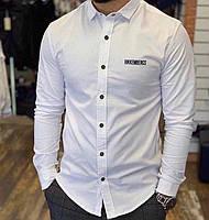 Мужская рубашка Bikkembergs P0306 белая