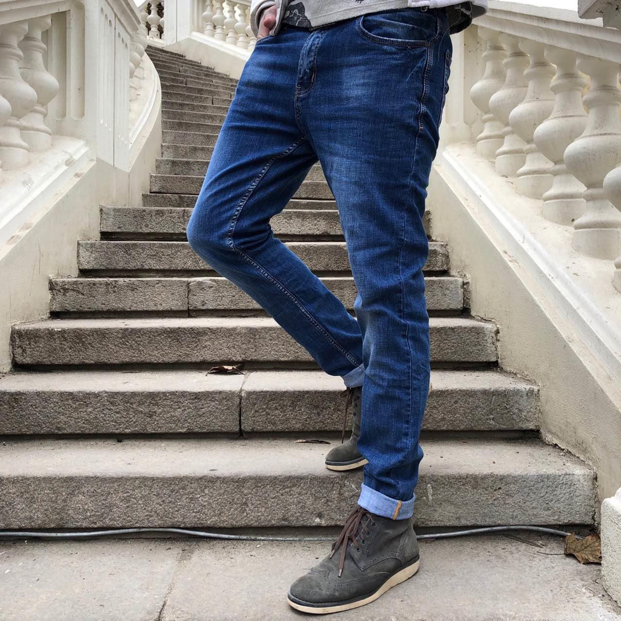 8078 Resalsa джинси чоловічі звужені весняні стрейчеві (30-4, 4 од.)