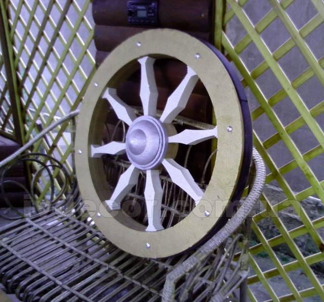 Колесо от колесницы из пенопласта EPS М35