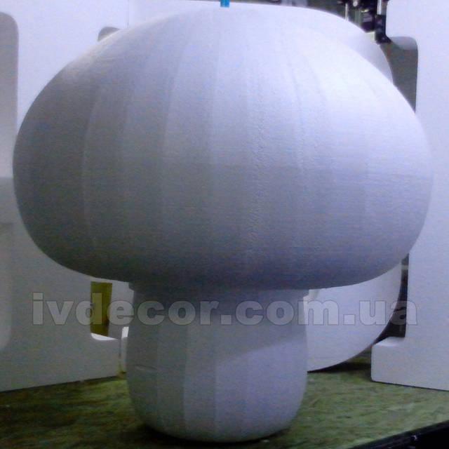 Шампиньон из пенопласта EPS М35 (заготовка для декорирования)