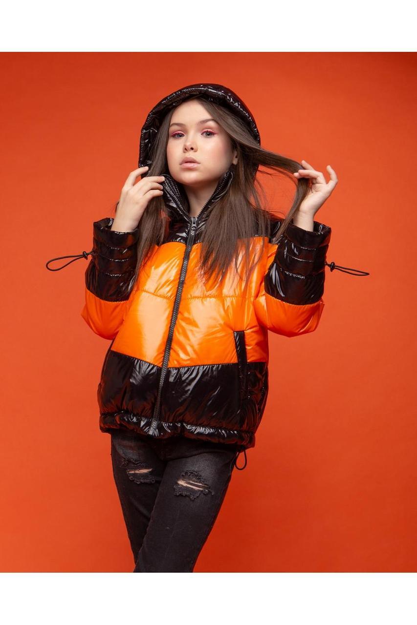 Детская демисезонная куртка для девочки vkd 19, размеры 134, 140, 146, 152, 158, 164