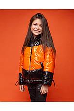 Детская демисезонная куртка для девочки vkd 19, размеры 134, 140, 146, 152, 158, 164, фото 3