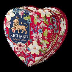 Чай в подарунок   Чай Річард Королівське серце 30 г у жерстяній банці