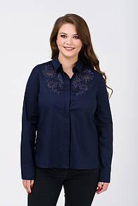 Рубашка RM1246-B-18DB (синий цвет)