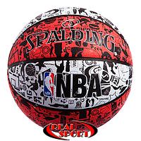Мяч баскетбольный №7 Spalding 83574Z NBA Graffiti