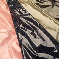 Ткань кожа лакированная латекс