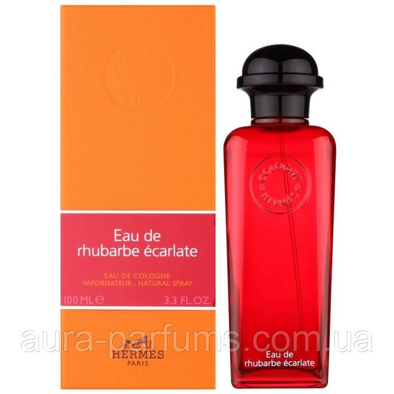 HERMES eau de rhubarbe ecarlate Одеколон 100 ml. лицензия