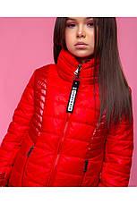 Детская демисезонная куртка для девочки vkd 23, размеры  134, 140, 146, 152, 158, 164, фото 3