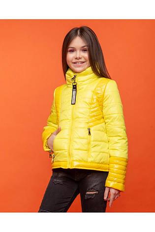 Детская демисезонная куртка для девочки vkd 23, размеры  134, 140, 146, 152, 158, 164, фото 2