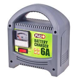 Зарядное устройство PULSO BC-20860 12V, 6A, 20-80AHR, стрел.индик.