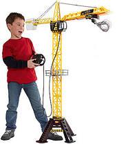 Огромный Мега кран на пульте управления большой Fast Lane Mega Crane 120см Оригинал высокий Fastlane