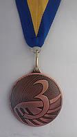 Медаль MD1293 за 3-тє місце Ø 50mm,, фото 1