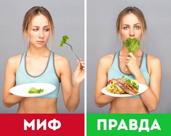 9 мифов о правильном питании