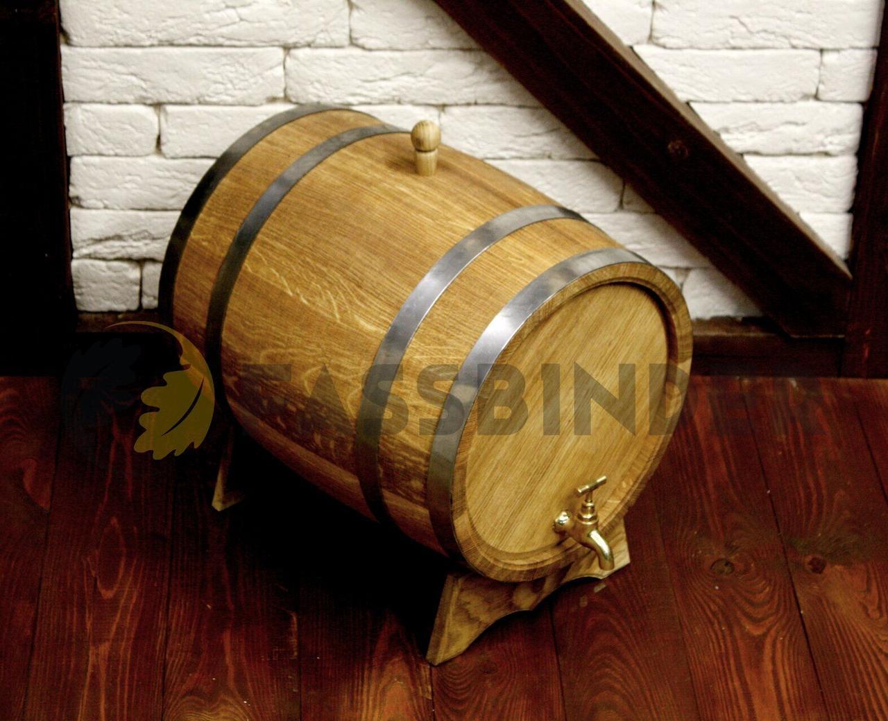Дубовая бочка для напитков Fassbinder™, 30 литров