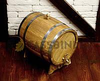 Дубовая бочка для напитков Fassbinder™, 30 литров, фото 1