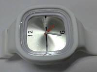 Силиконовые  часы белые S
