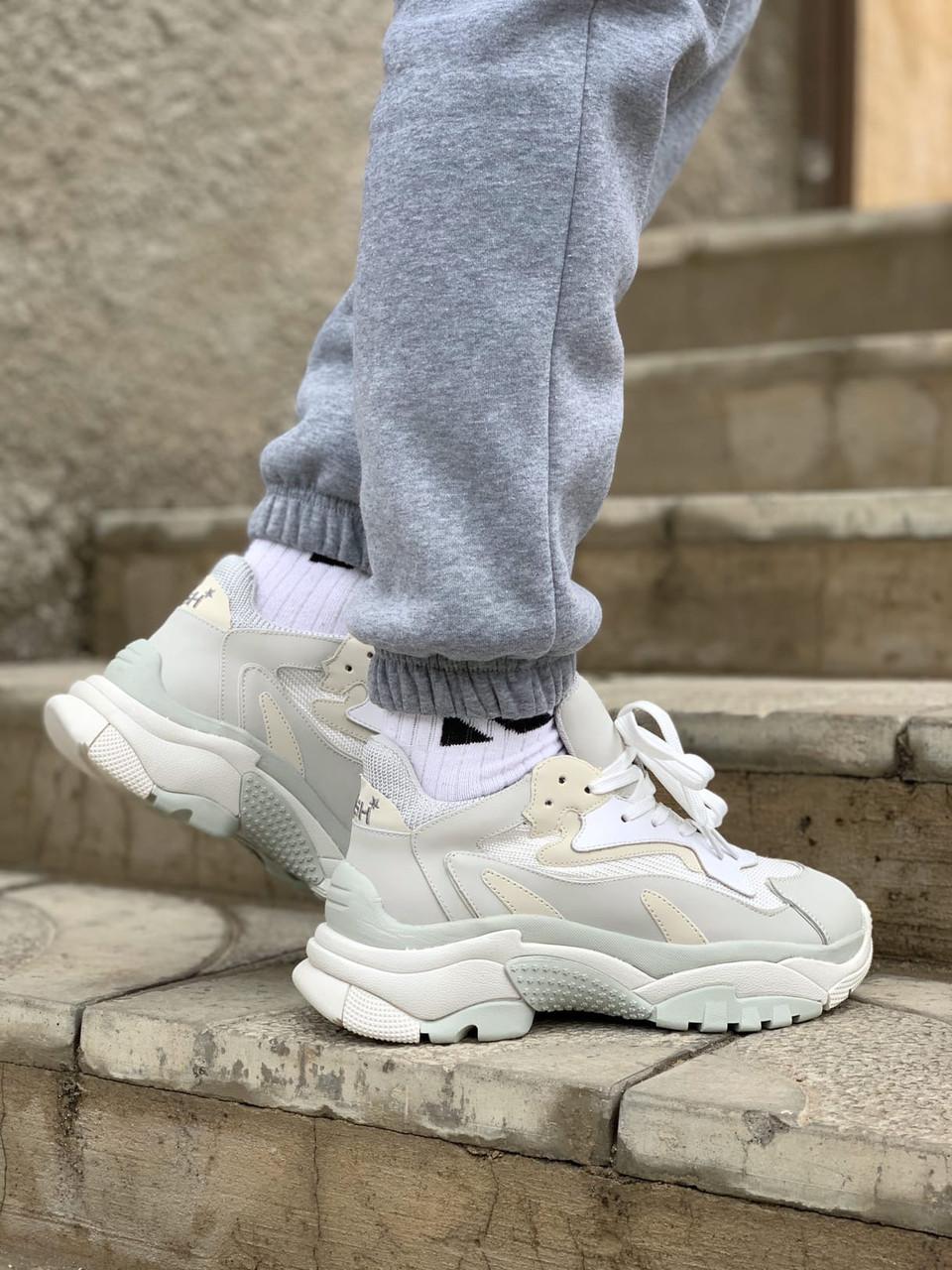 Стильные женские кроссовки ASH grey