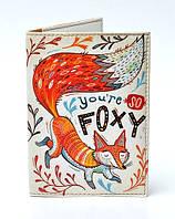 Обложка на паспорт Foxy