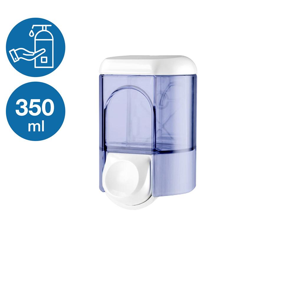 Дозатор жидкого мыла 350мл белый (Италия)