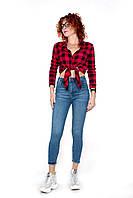 Женские джинсы LOVEST skynni M Голубой (15826-30)