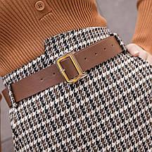 Утепленная женская твидовая юбка в стиле Dior 44-48 р, фото 3