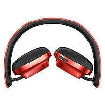 Беспроводные Bluetooth наушники Baseus D01 Encok Wireless NGD01-09 (Красные), фото 2