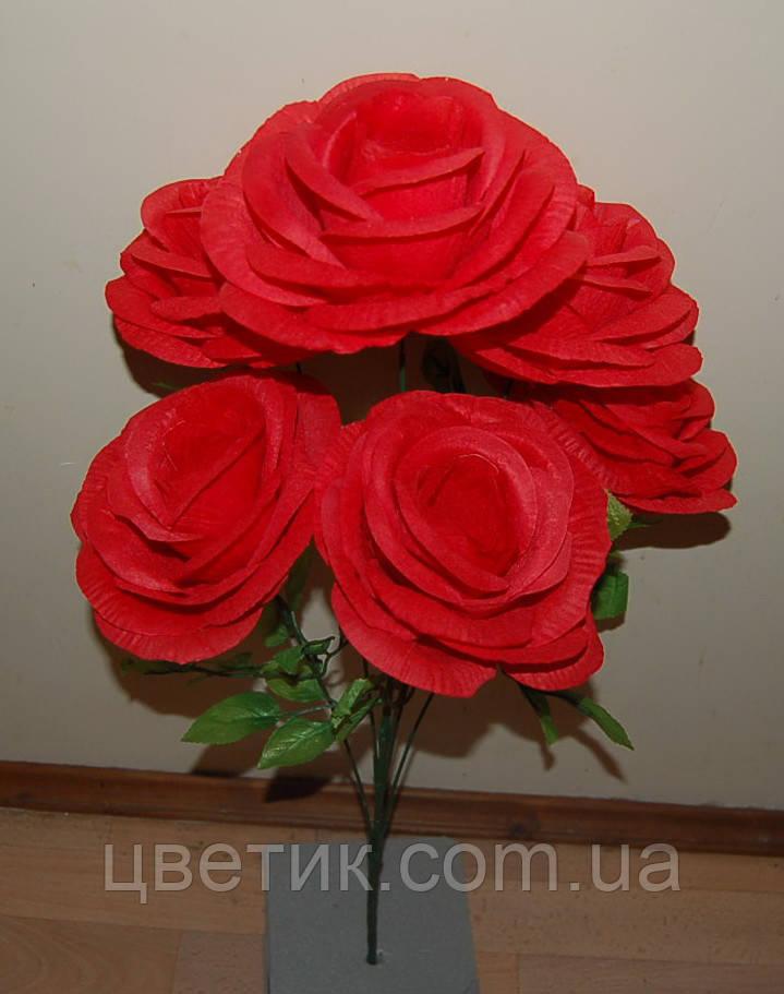 "М-518 Роза ""Гигант"" 6 голов 60х20 см"