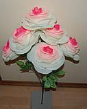 "М-518 Роза ""Гигант"" 6 голов 60х20 см, фото 3"