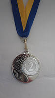 Медаль MMC1040/S за 2-ге місце Ø 40mm, фото 1