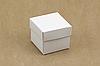 """Коробка """"Бусинка"""" М0062-о4 белая, размер 43*43*36 мм"""