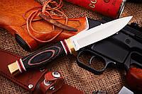 Нож нескладной для охоты + ПОДАРОК