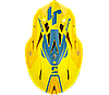 Мотошлем JUST1 J18 PULSAR желтый/синий, фото 5