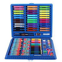 """Набір для малювання ARTISTS CORNER Art Set """"Набір юного художника"""" 150 шт Блакитний (5622)"""