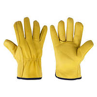 Перчатки защитные CORK из козьей кожи, блистер, размер 10,5, RWC105