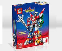 """Конструктор Senco SY1130 (Аналог Lego Ideas 21311) """"Вольтрон - защитник вселенной"""" 2334 детали, фото 1"""