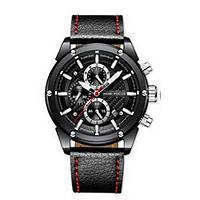 Мужские наручные часы оригинал Mini Focus MF0158G.05 Black-Light Brown