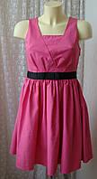 Платье нарядное выпускное хлопок мини бренд Debenhams р.40-42