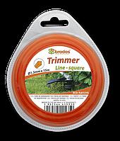 """Леска для триммера, """"квадрат"""",  2,4 мм, ECO-TLK2415"""