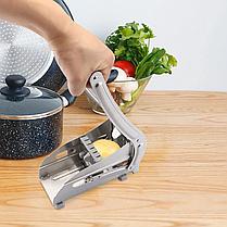 Машинка для нарезки картофеля соломкой Potato Chipper | картофелерезка | овощерезка | мультирезка, фото 3