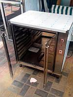 Расстоечный шкаф с равномерным нагревом стенок камеры, 8 уровней
