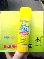 Клей-карандаш 36г HUA JIN (12шт)