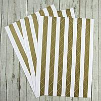 Уголки для фотографий, самоклеющиеся на листе 102 уголка, золото
