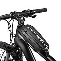 """Сумка Rockbros Aero Carbon """"S"""", на раму, фото 1"""