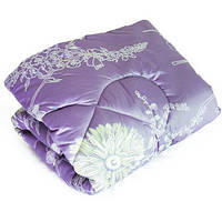 Стёганное одеяло шерстяное (сатин+шерсть) ТМ «Ярослав» 140*205