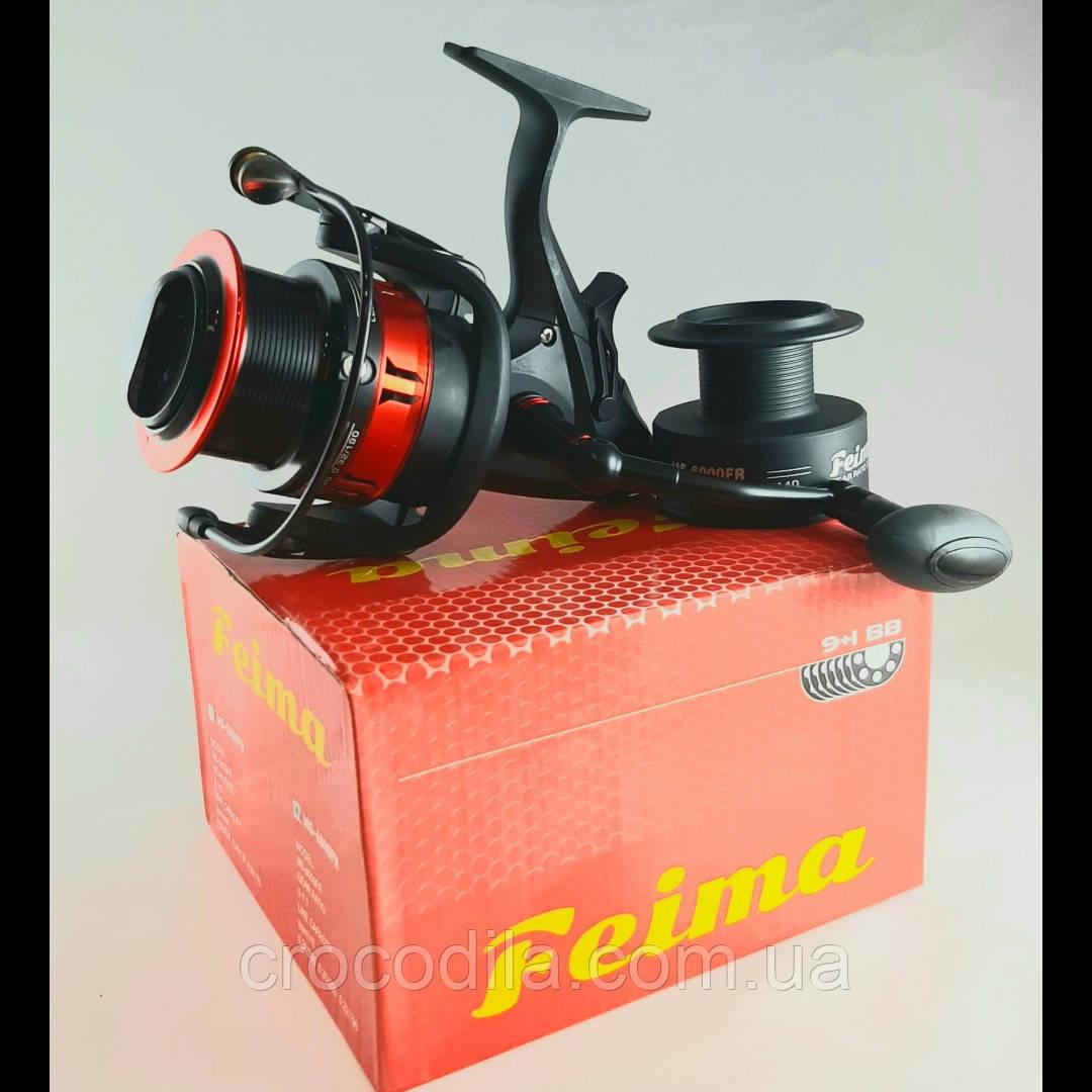 Котушка фідерна з бейтранером Feima MS 6000
