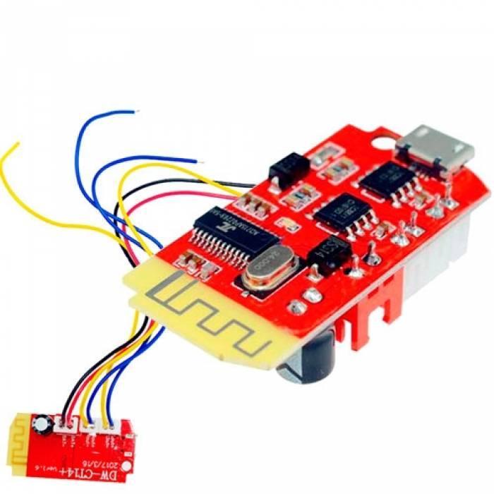 Bluetooth модуль підсилювача Micro USB 3.7-5В 3Вт