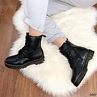 Женские зимние ботинки черного цвета, эко кожа 40 41 ПОСЛЕДНИЕ РАЗМЕРЫ, фото 3